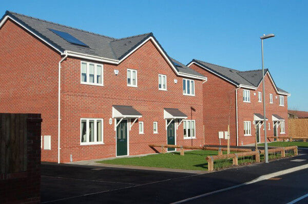 New houses built by Fairtree Homes in Halewood
