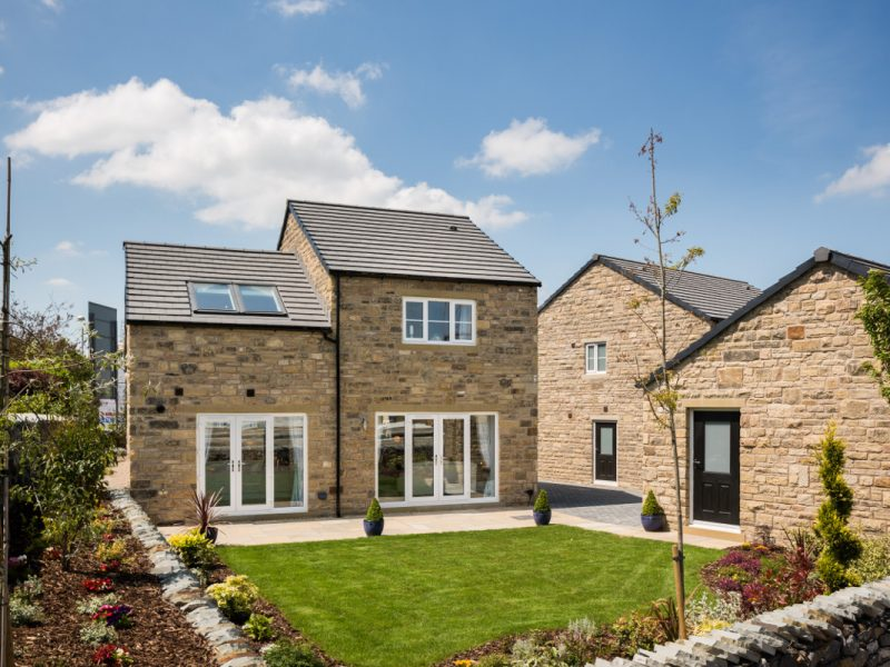 A new build house at Elsey Croft which we air tested for Skipton Properties