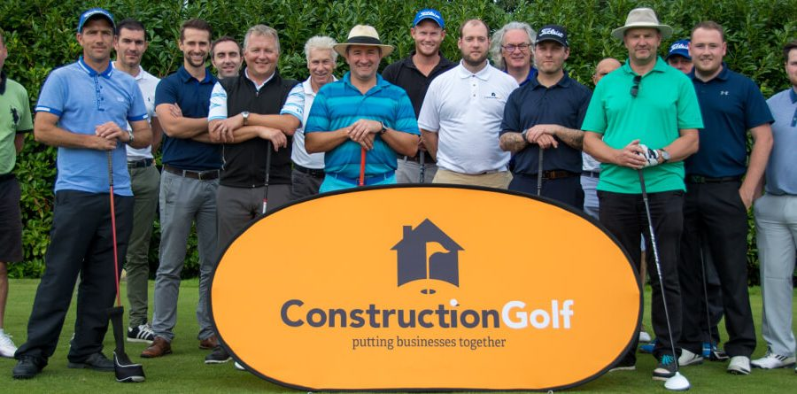 The golfers at Construction Golf Day June 16 2 (1)