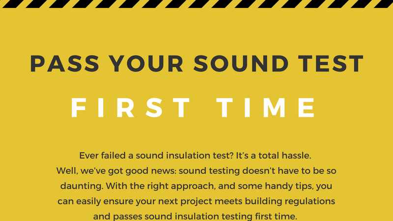 infographic explaining how to pass your sound test first time