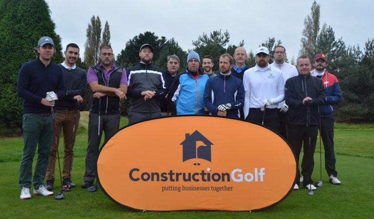 the construction golf team at Eastham Lodge