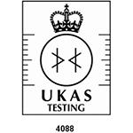 UKAS testing logo number 4088